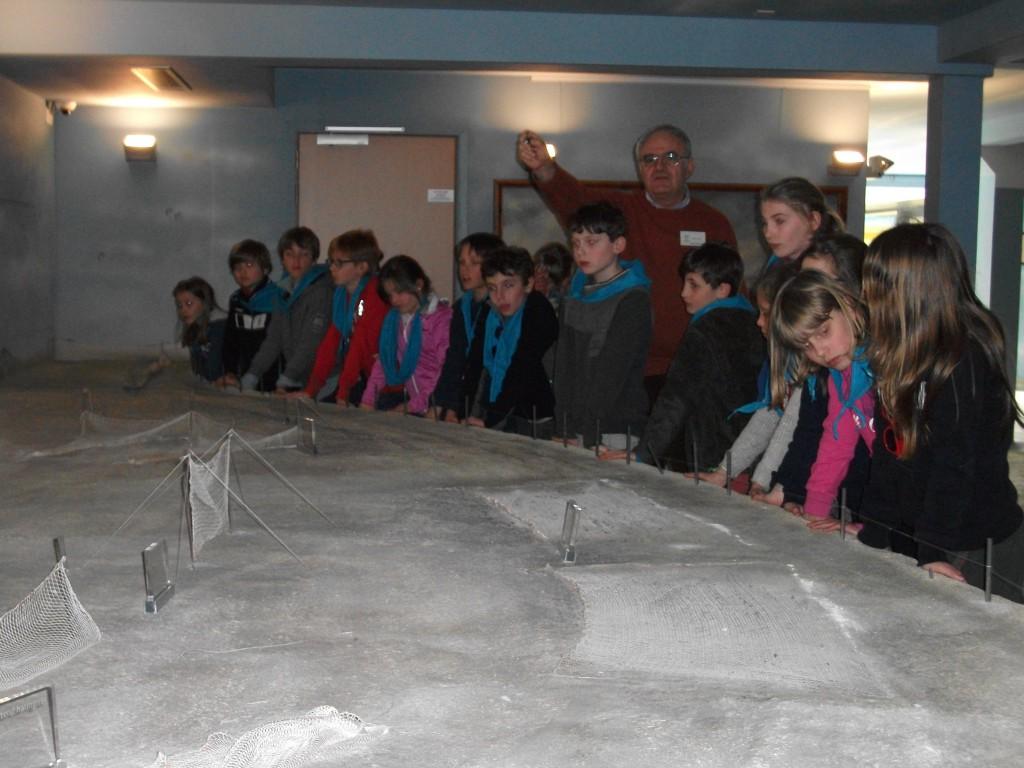 In het visserijmuseum